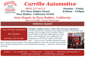 Click to go to carrilloautomotive.com