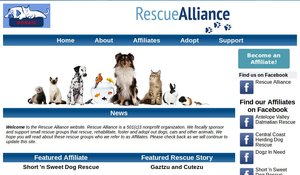 Click to go to rescuealliance.org